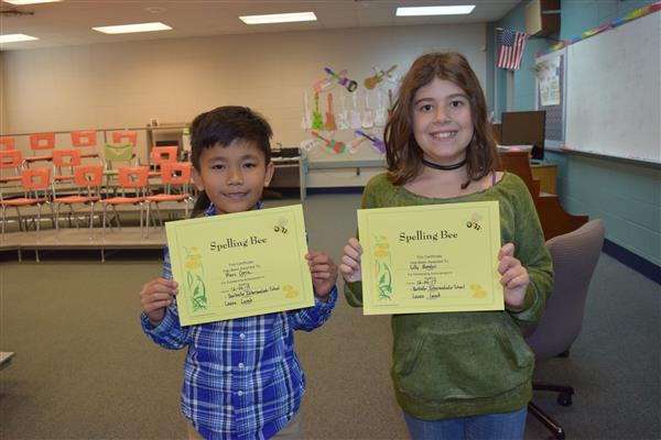 Congratulations HIS Spelling Bee Winners