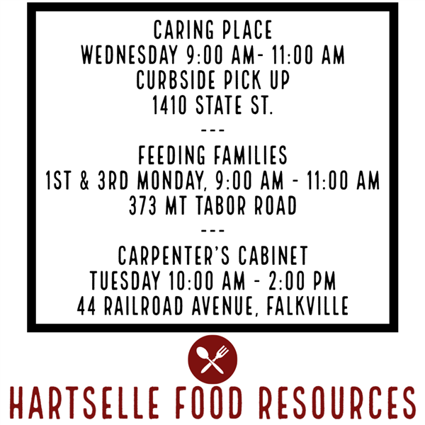 Hartselle Food Resources
