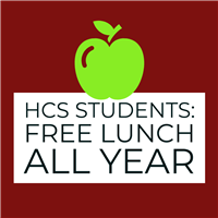HCS Students Eat Free Until December 2020!