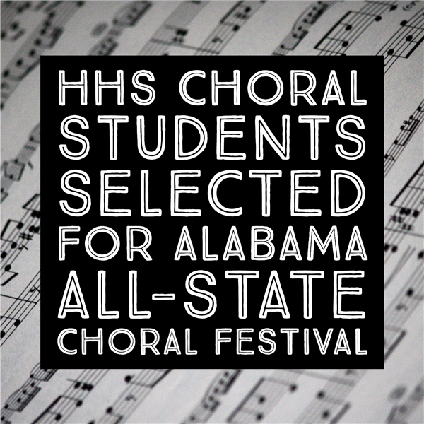 Congratulations to HHS Choral Department!