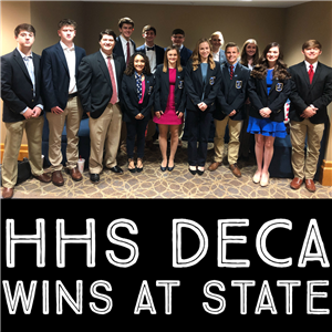 HHS DECA Wins at State
