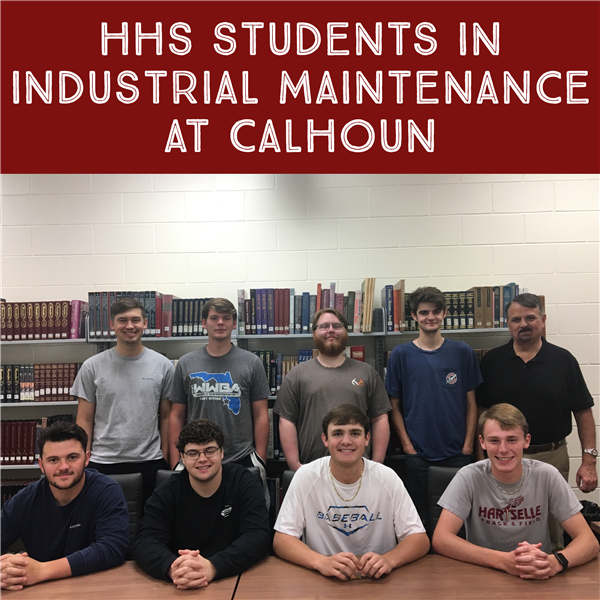 HHS Students in Industrial Maintenance at CCC