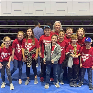 F. E. Burleson Robotics Win at UNA!