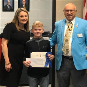 HIS Student Named State Poster Contest Winner