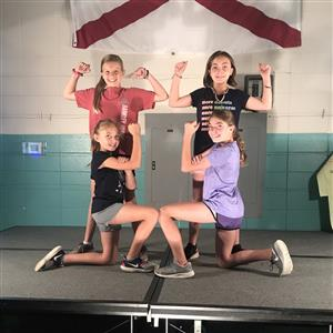 Barkley Bridge Fourth Grade Talent Show