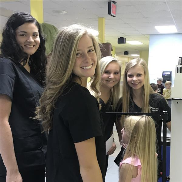 HHS Medical Students Perform Screenings at FEB