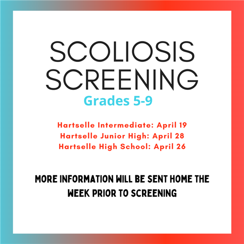 Scoliosis Screening for Grades 5-9