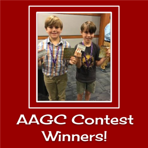 Alabama Association for Gifted Children Conference Contest Winners!