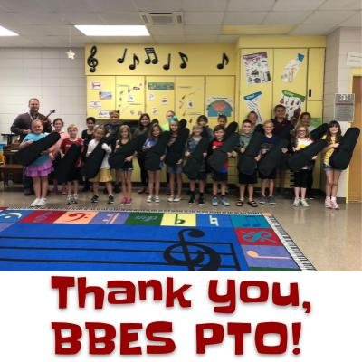 BBES PTO Purchase Violins For Music