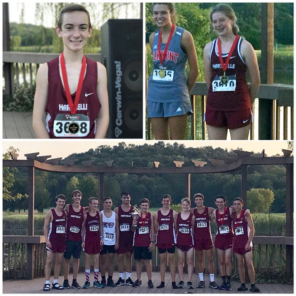 Cross Country Wins at Hartselle Invitational