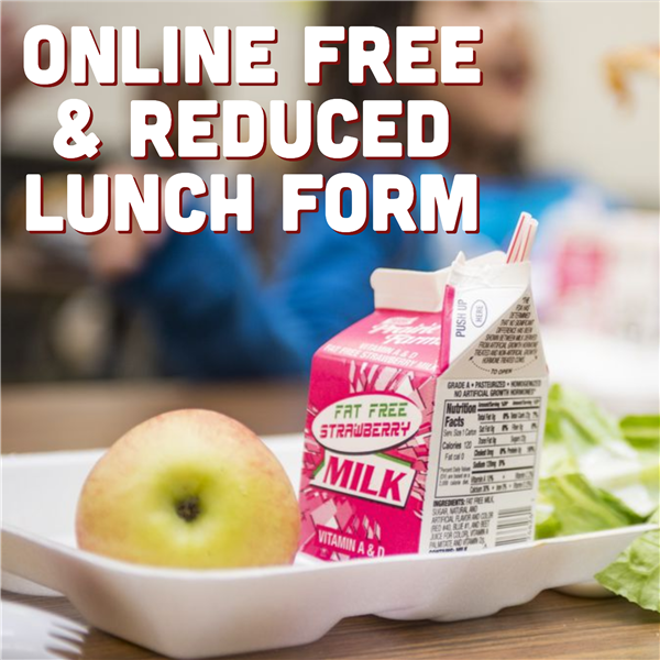 Online Free & Reduced Lunch Form