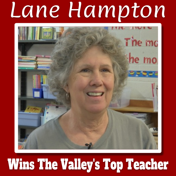 Congratulations to Lane Hampton!