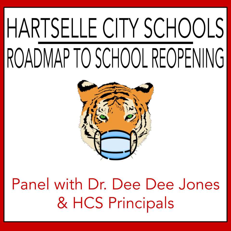 HCS Roadmap to School Reopening: Presentation of Plan by Dr. Jones and Principals