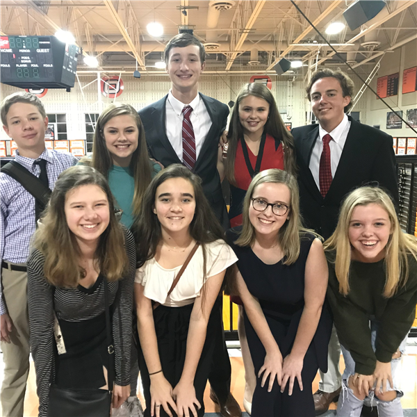HHS Speech & Debate Team Competes at Hoover