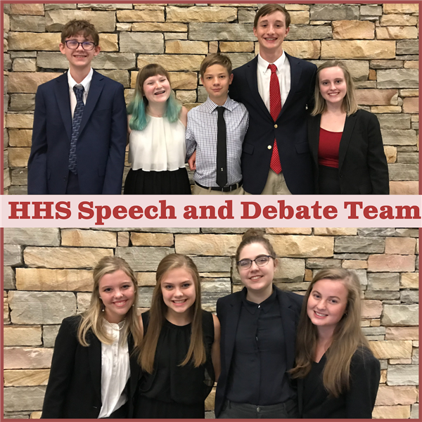 HHS Speech and Debate Team Competes in Vestavia