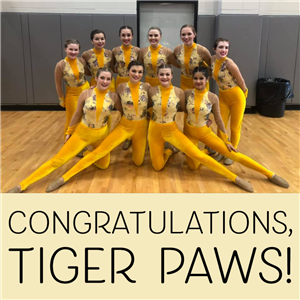 Congratulations to the Tiger Paws on a great beginning to their season!