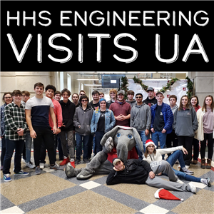 HHS Engineering Visits UA